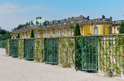 Palace In The Garden Of Sanssouci. Stock Photo