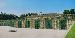 Palace In The Garden Of Sanssouci. Royalty Free Stock Photos