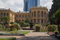 Palace gardening Stock Photography