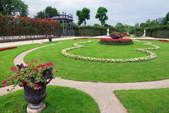 Palace gardens Royalty Free Stock Images