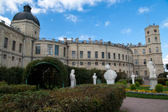 Palace in Gatchina. Royalty Free Stock Photos