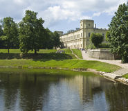 Palace in Gatchina, Russia Royalty Free Stock Photography