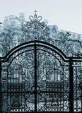 Palace gate Stock Photography