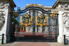 Palace gate. The famous Buckingham palace in London UK royalty free stock photos