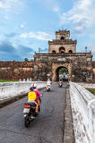 The palace gate, Imperial Palace moat Stock Photography