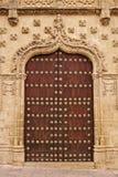 Palace gate. Jabalquinto palace in Baeza. Spain Stock Photography