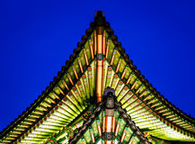 Palace Gate Roof Royalty Free Stock Photography