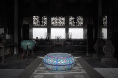 Palace of Gathered Elegance,indoors-储秀宫内景 Stock Photo
