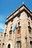 Palace of the Generalitat Valenciana Royalty Free Stock Photos