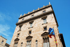 Palace of the Generalitat Valenciana Royalty Free Stock Image