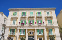 Palace in Giovinazzo Oldtown. Apulia. Royalty Free Stock Photos