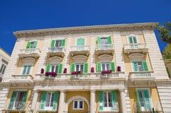 Palace in Giovinazzo Oldtown. Apulia. Stock Image