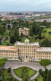 Palace of the Governorate of Vatican City State. Royalty Free Stock Photography