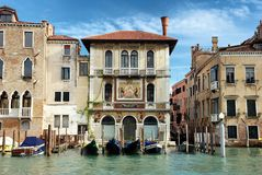 Palace on the Grand Canal in Venice Royalty Free Stock Image