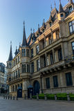 Palace of the Grand Duchy of Luxembourg. At sunset Stock Photography