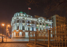 Palace of Grand Duke Nikolai Nikolaevich. Palace of Grand Duke Nicholas, built in 1910, architect A. Hrenov. Since 1985, there was the wedding palace. Since 2000 Royalty Free Stock Image