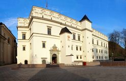 Palace of the Grand Dukes of Lithuania Royalty Free Stock Image