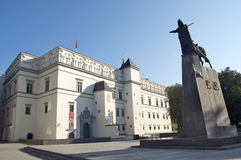 Palace of the Grand Dukes. Of Lithuania in Vilnius Royalty Free Stock Photo