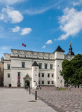 Palace of the Grand Dukes of Lithuania. Vilnius Royalty Free Stock Images