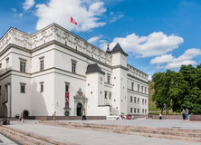 Palace of the Grand Dukes of Lithuania. Vilnius Stock Images