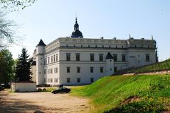 Palace of the Grand Dukes of Lithuania Royalty Free Stock Images