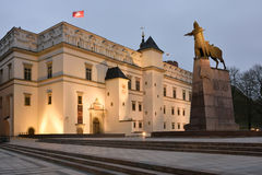 Palace of the Grand Dukes of Lithuania, Vilnius Stock Photography