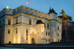 Palace of the Grand Dukes in Vilnius, Lithuania Royalty Free Stock Photos