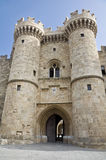Palace of the Grand Master of the Knights of Rhodes Stock Photo