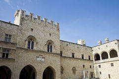 Palace of the Grand Master of the Knights of Rhodes Royalty Free Stock Image