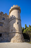 Palace of the Grand Master of the Knights of Rhodes - Greece. Palace of the Grand Master of the Knights of Rhodes, Greece royalty free stock photo