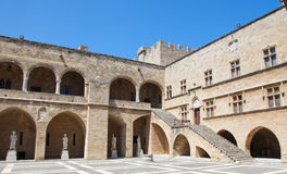 Palace of the Grand Master of the Knights of Rhodes, Greece Stock Image