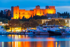 The Palace of the Grand Master of the Knights of Rhodes Royalty Free Stock Images
