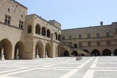 Palace of the Grand Master, Rhodes Stock Photo