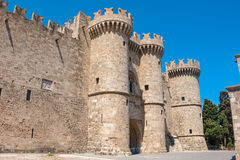 Palace of the Grand Masters. Rhodes, Greece Stock Photography