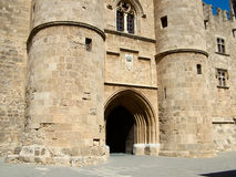 Palace of the Grand Masters in Rhodes, Greece royalty free stock image