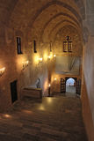 The Palace of Grand Masters, Rhodes, Greece royalty free stock photography