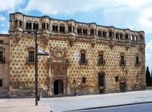 Palace in Guadalajara Royalty Free Stock Photography