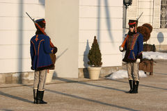 Palace guard Stock Photography