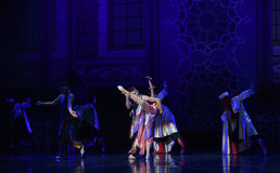 """The palace guard of honor- ballet """"One Thousand and One Nights"""" Stock Photo"""