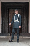 Palace Guard - Kathmandu - Nepal Royalty Free Stock Photos