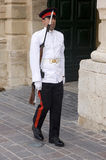 Palace Guard, Malta. Royalty Free Stock Photos