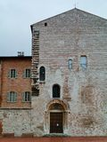 Palace in Gubbio in Italy Royalty Free Stock Image