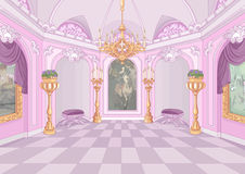Palace Hall. Illustration of beutiful Palace hall royalty free illustration