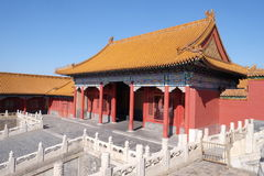 Palace of Hall of Preserved Harmony Baohedian in the Forbidden City, Beijing Stock Image