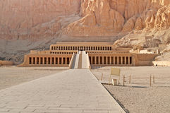 Palace of Hatshepsut in Luxor, Egypt Royalty Free Stock Photos