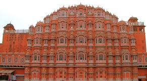 Palace Hawa Mahal in Jaipur, India Royalty Free Stock Images