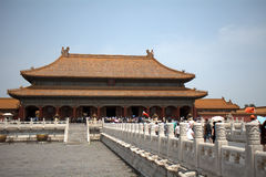 Palace of Heavenly Purity in the Forbidden City, Beijing, China Stock Photo