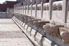 Palace of Heavenly Purity Qianqinggong in Forbidden city, Beijing Royalty Free Stock Photos