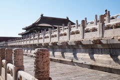 Palace of Heavenly Purity Qianqinggong in Forbidden city, Beijing Stock Images