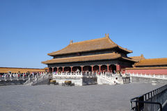 Palace of Heavenly Purity Qianqinggong in Forbidden city, Beijing. China Royalty Free Stock Image